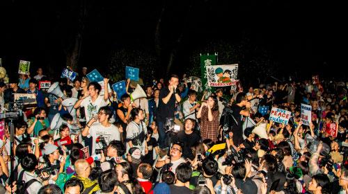 国会前が群衆で埋め尽くされた夏『わたしの自由について~SEALDs 2015~』