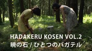 『肌蹴る光線 ーあたらしい映画ー』vol.2(上映作品:『暁の石』『ひとつのバガテル』)